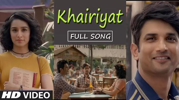 Khairiyat pucho hindi lyrics Ft. Arijit Singh from chhichhore