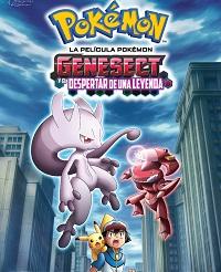 Pelicula 1-Temporada 16-Pokémon-Genesect Y El Despertar De Una leyenda-latino