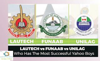 Lautech, Funaab and Unilag