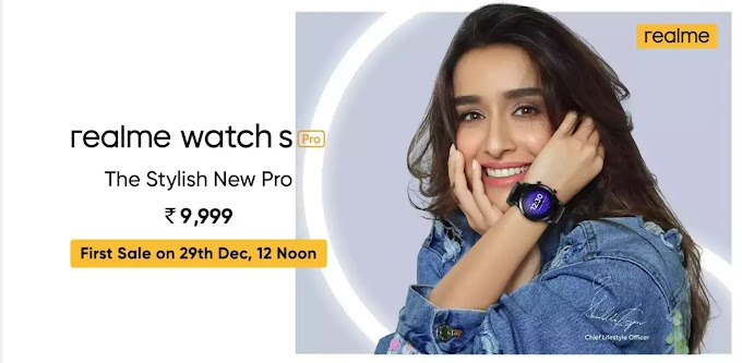 Realme Watch S Pro Spaces Price in India - Tech Time Online