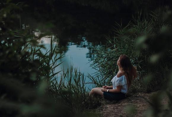 Jezioro - sesja z Julią P.