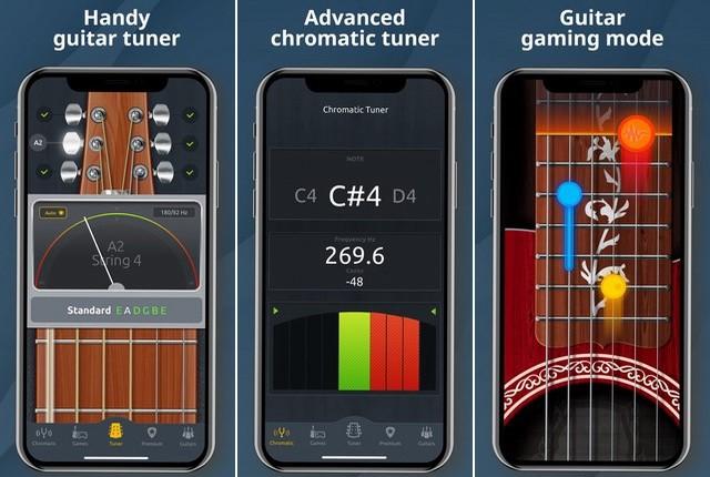 أفضل تطبيق لضبط أوتار الجيتار للايفون