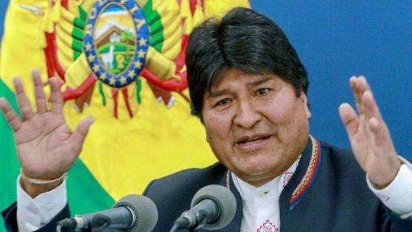 Evo Morales: Quieren acallar la prensa para perpetrar el golpe