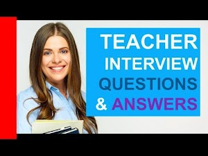 Interview question for a teacher