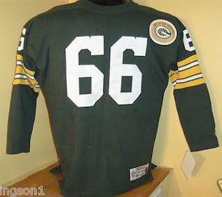 Green Bay Packers Ray Nitschke Champion Throwbacks jersey