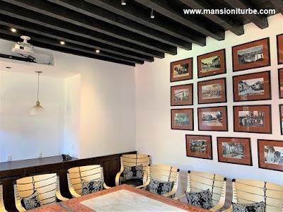 Salón Ejecutivo en Pátzcuaro: Francisco de Iturbe en el Hotel Mansión Iturbe