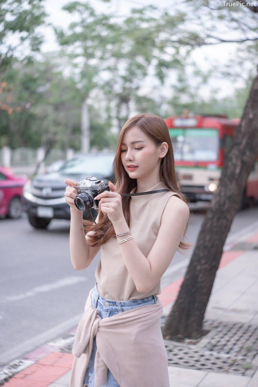 Thailand beautiful model - Pla Kewalin Udomaksorn - A beautiful morning with a cute girl - Picture 6