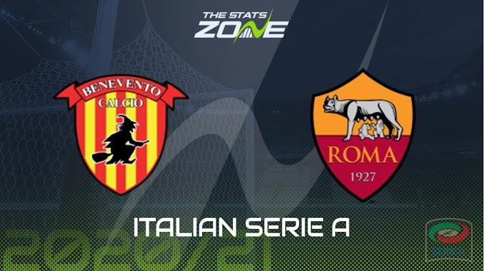 مشاهدة مباراة بينفينتو و روما بث مباشر