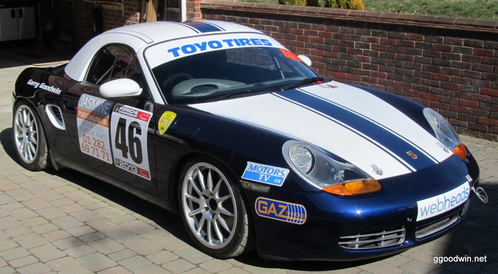 Porsche Boxster Track / Race Car: A new look for the 2013 Season