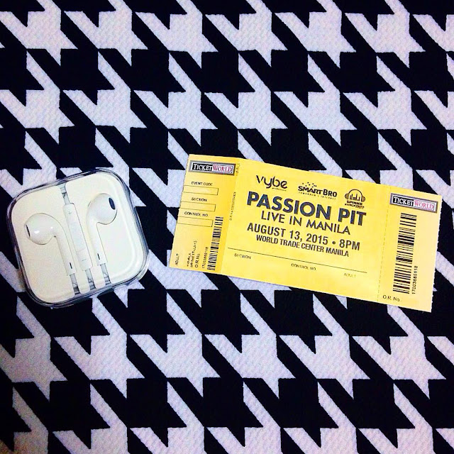 Passion Pit show in Manila
