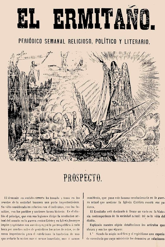 El Ermitaño nº 1 5 de novembro de 1868 PROSPECTO