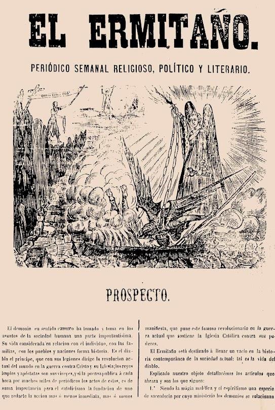 """""""El Ermitaño"""" era o boletím de guerra do beato carmelitano"""