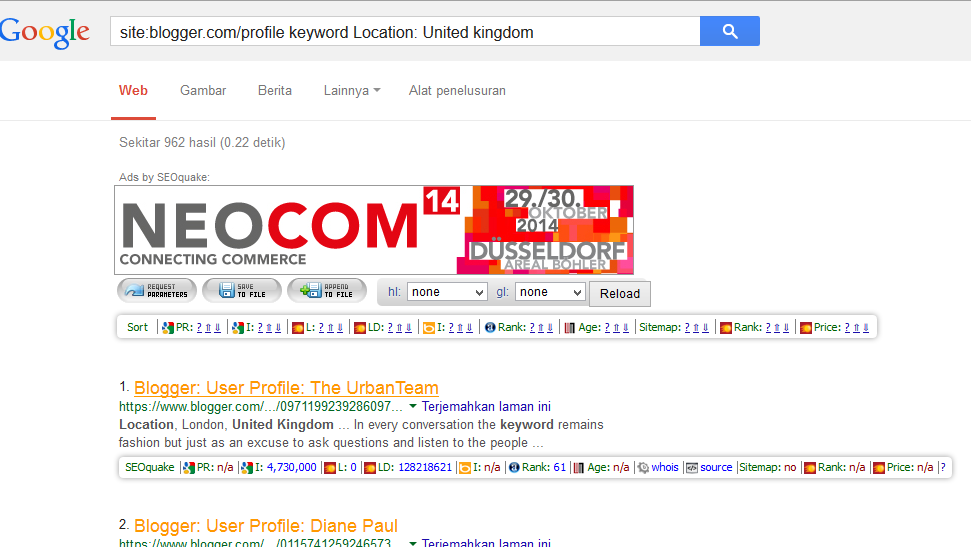 ialah Blog yang sudah di hapus pemiliknya ataupun di hapus oleh google namun alamat url  Cara Praktis Mencari Blog Zombie