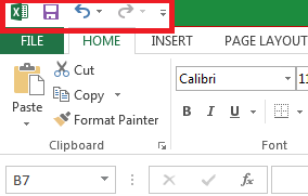 Understanding and Functions of the Excel Quick Access Toolbar