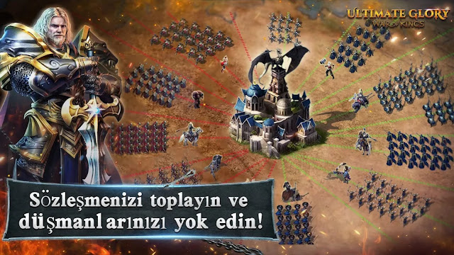 ultimate glory strateji mobil oyun