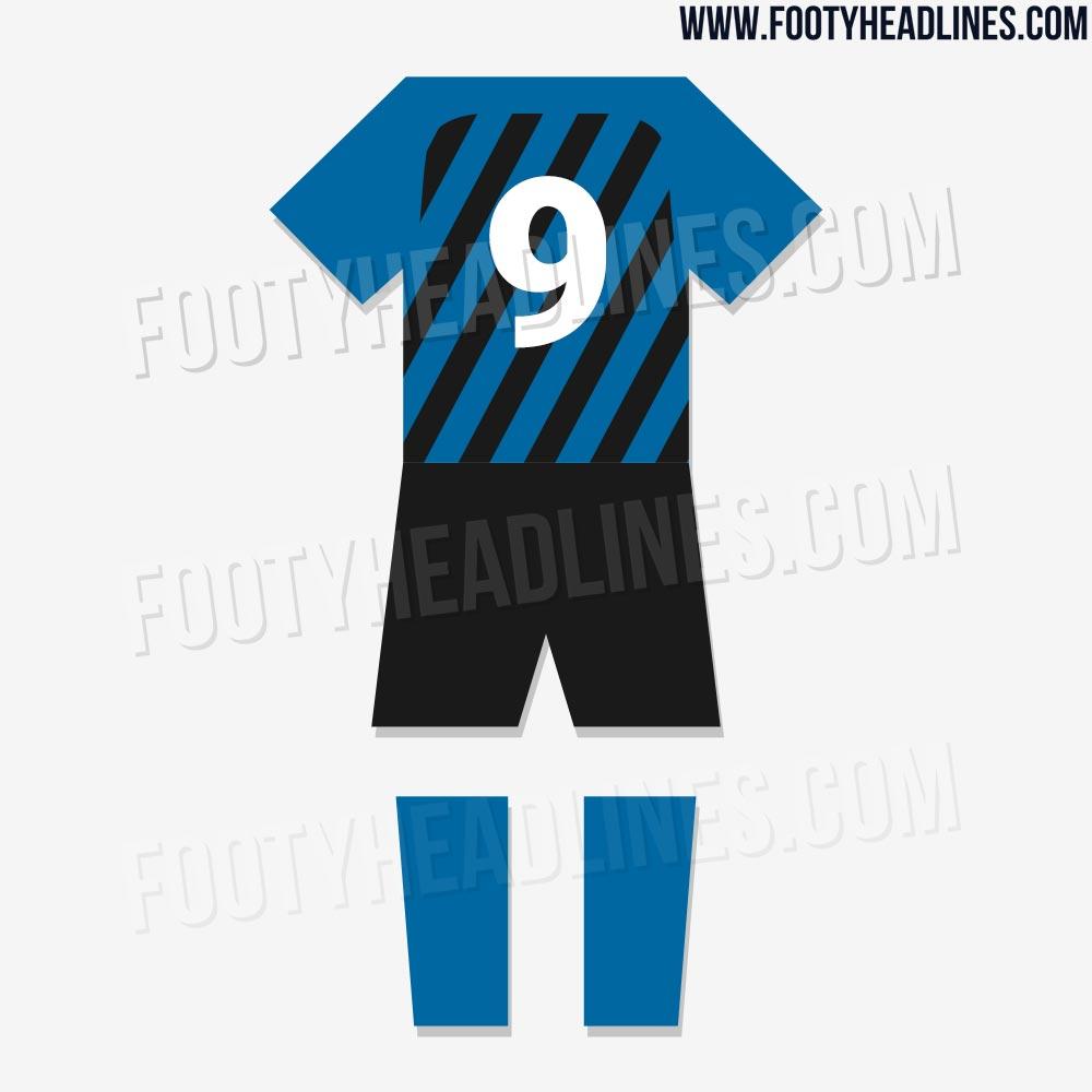 Así luciría el uniforme completo del Inter de Milan
