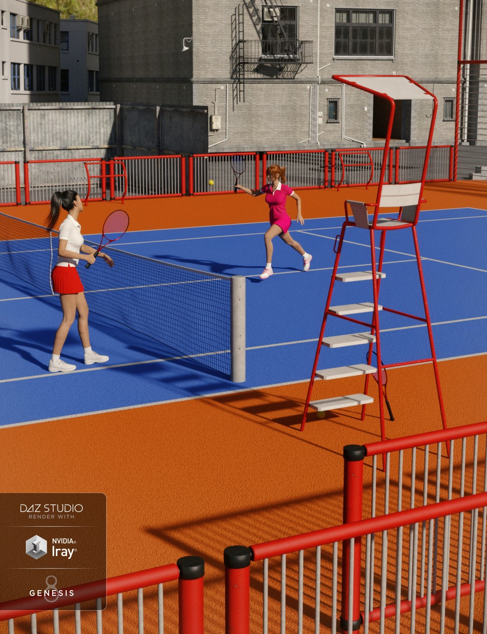Download DAZ Studio 3 for FREE!: DAZ 3D - Urban Playground