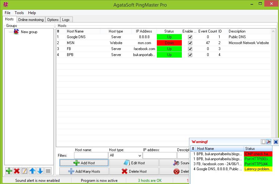 agatasoft pingmaster pro full version