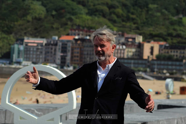 Sam Neill en el Festival de San Sebastián