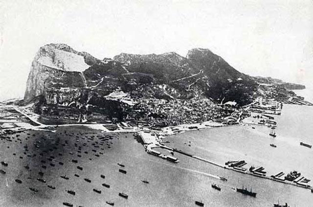 The British base at Gibraltar during World War II worldwartwo.filminspector.com