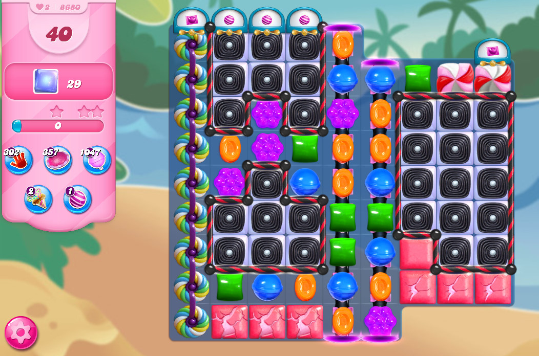 Candy Crush Saga level 8680