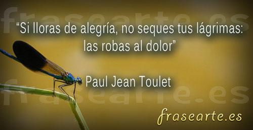 Frases motivadoras de Paul Jean Toulet
