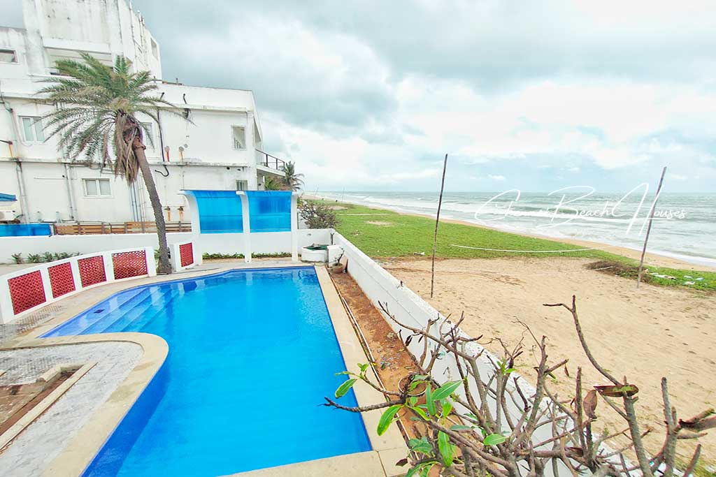 best beach house in ecr with swimming pool