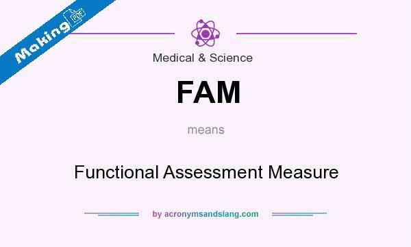 Functional assessment measure(FAM) PDF