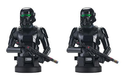 The Mandalorian Death Trooper Star Wars Mini Bust by Gentle Giant x Diamond Select Toys