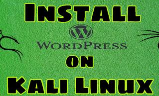 Install WordPress on Kali Linux