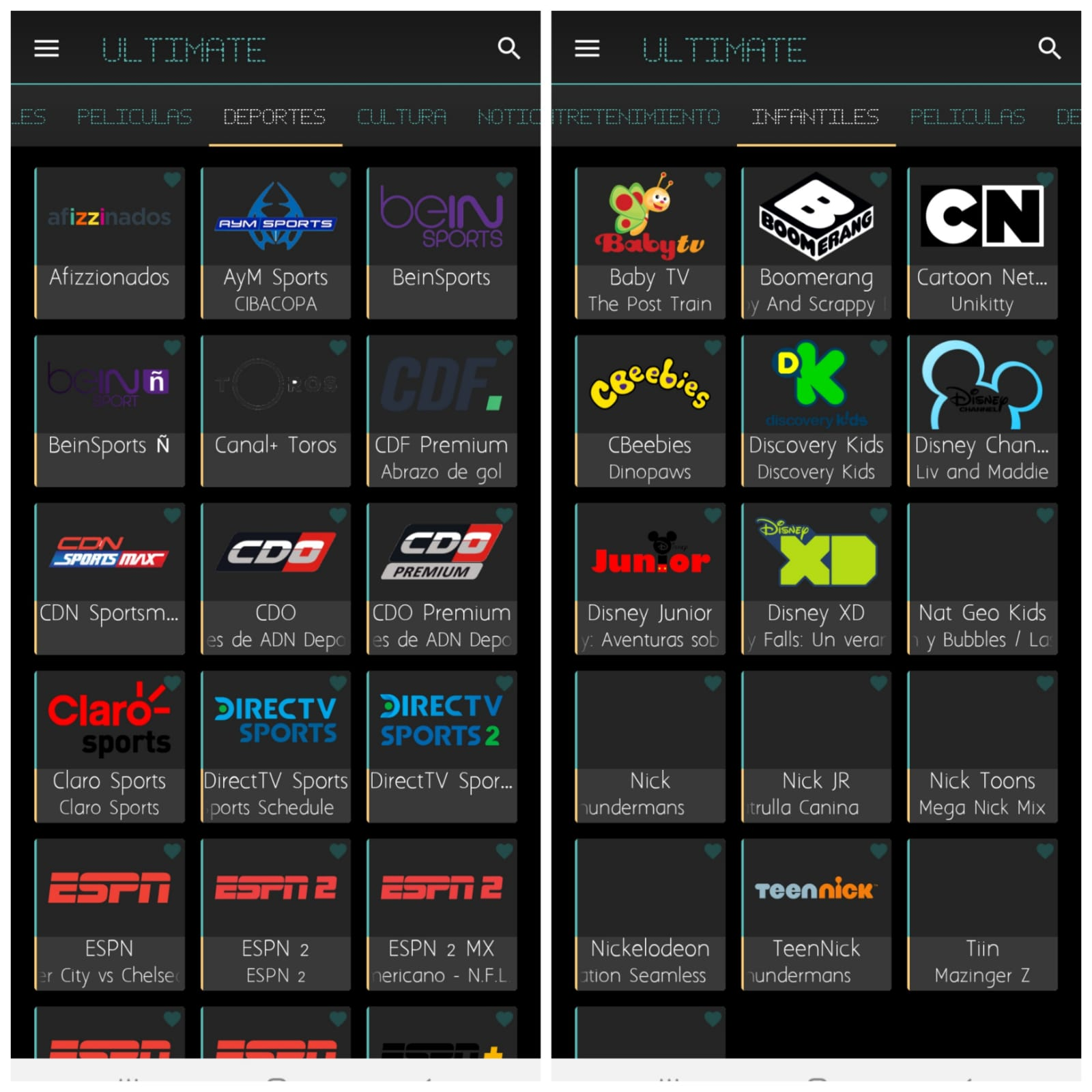 ULTIMATE TV: Mejor Aplicación Para Ver TV Gratis 2021