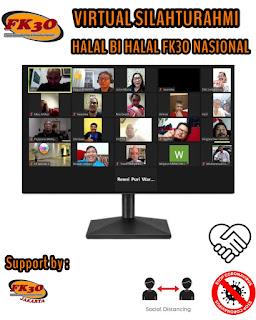 Virtual Silahturahmi, Halal Bi Halal FK3O Nasional