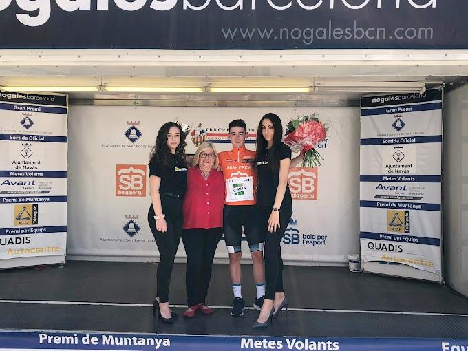 Javi Serrano (Kometa Cycling Team) triunfa en la Cursa del Llobregat, donde Raúl García (Kometa Cycling Team) asciende al liderato de la Copa de España