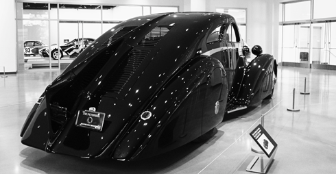 Petersen Automotive Museum Los Angeles California