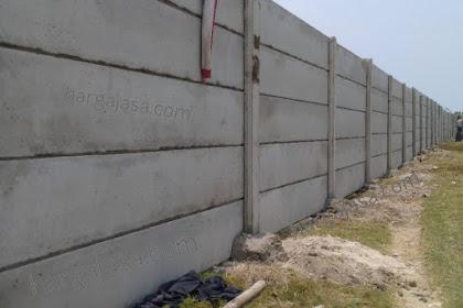 Harga Pasang Pagar Beton Palembang per meter