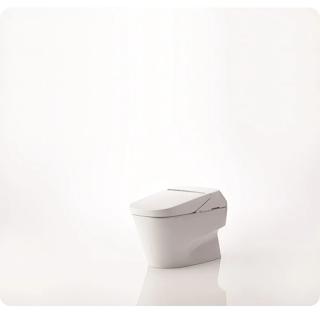 Minimalist toilet design by TOTO.