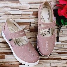 Sepatu Wanita Flat Shoes AU47 ada Big Size