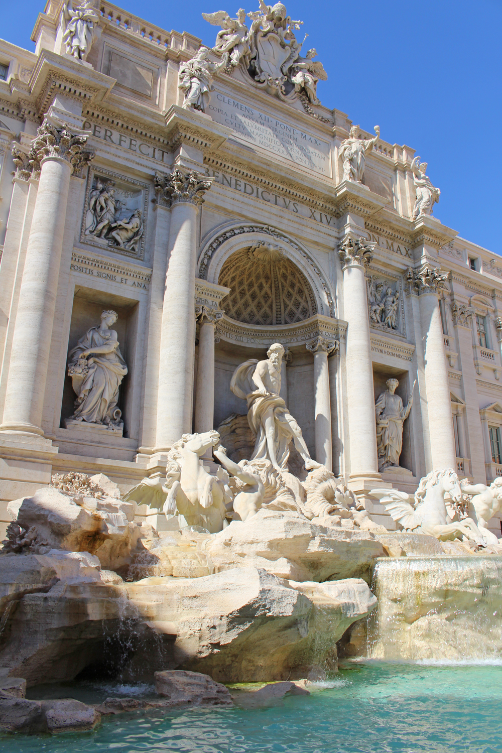 The Trevi Fountain, Rome - style & travel blog