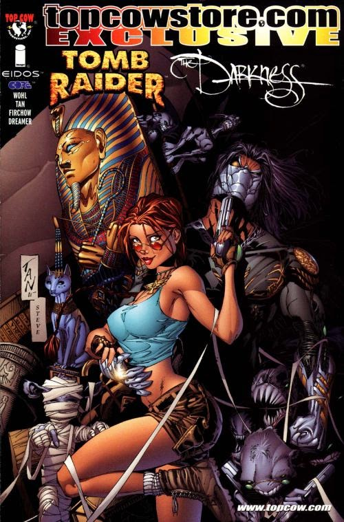 The Crossover Universe Crossover Cover Tomb Raider The Darkness
