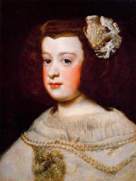 Диего Веласкес - Портрет Марии Терезы (1648)