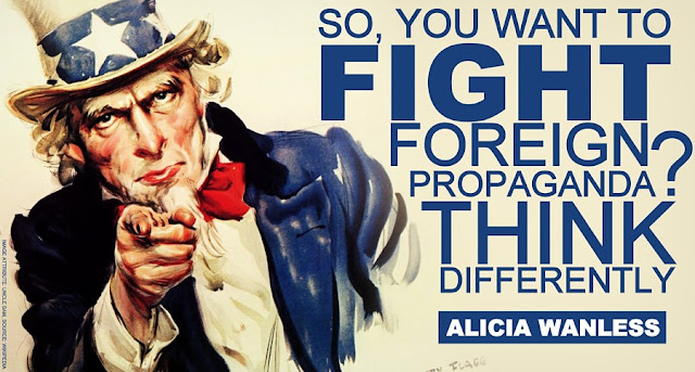 FEATURED | So, You Want to Fight Foreign Propaganda? Think Differently