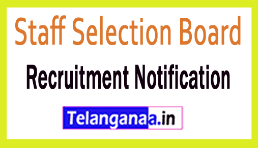 Staff Selection Board SSB Recruitment