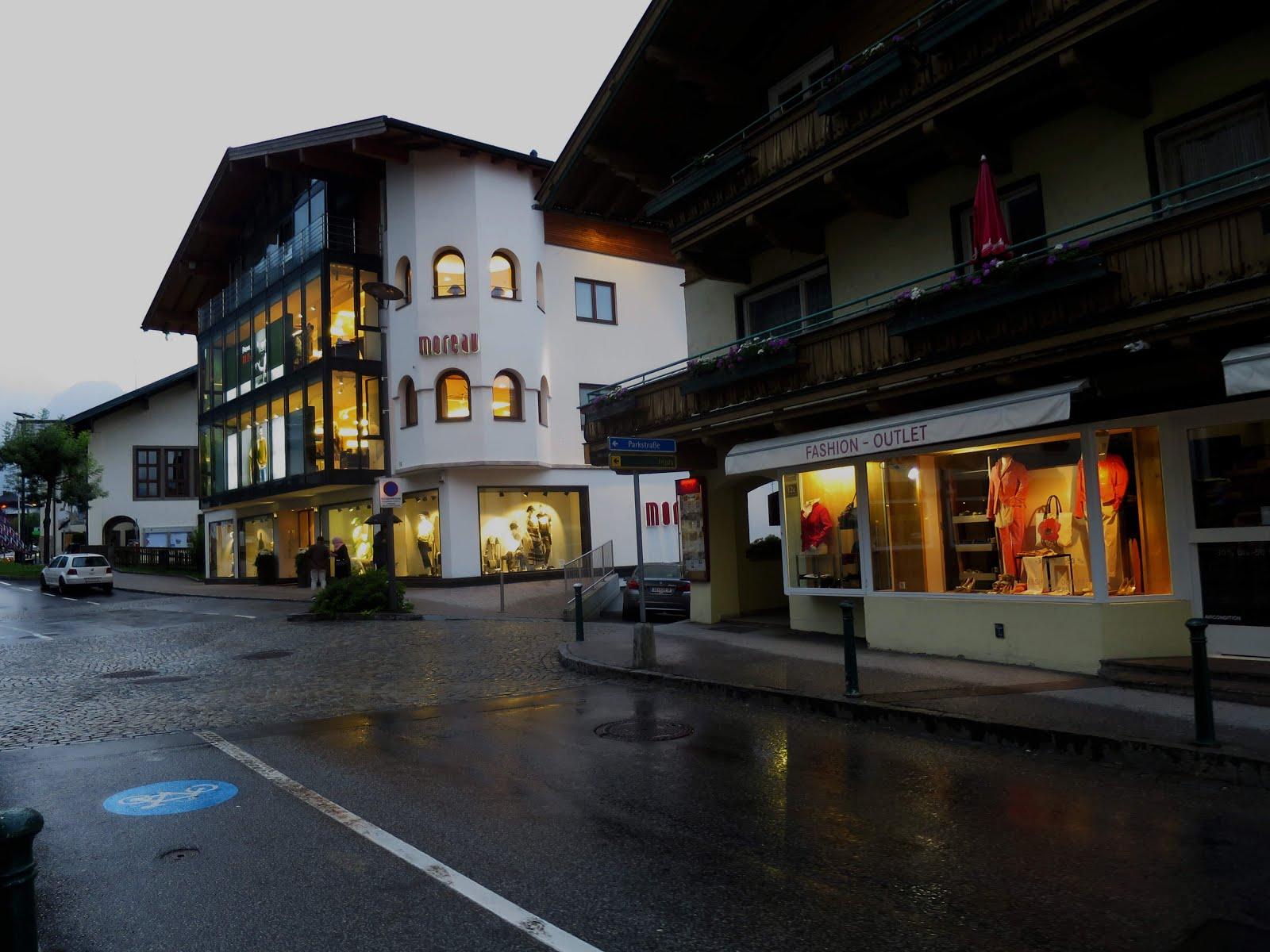 kaprun town centre