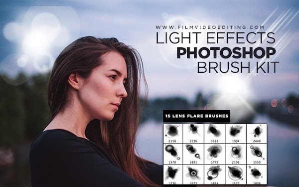 Light Effects Photoshop Brushes Free Download