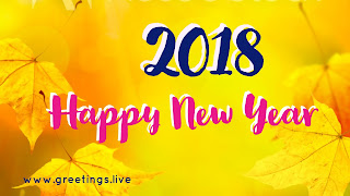 Yellow colored leafs in yellow bg wishes 2018.jpg
