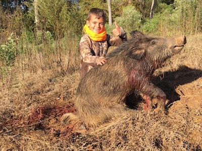 Little Graham's First Pig