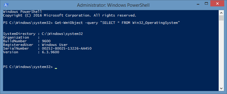 Solved: Test WMI Query PowerShell
