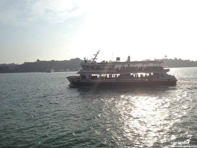 鼓浪嶼往返渡船