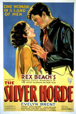 Póster película La horda argentada (The Silver Horde)
