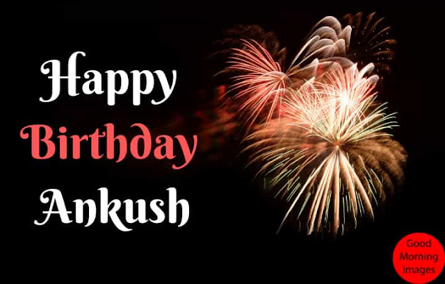 Birthday images with name angkush
